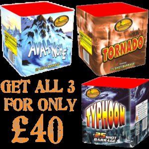 Buy 3 Deal £40