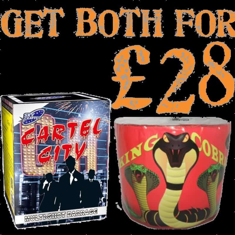 Cartel City & King Cobra Deal