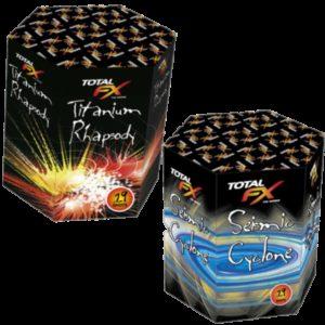 Titanium Rhapsody & Seismic Cyclone