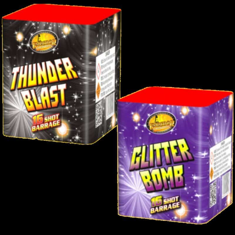 Thunder Blast & Glitter Bomb