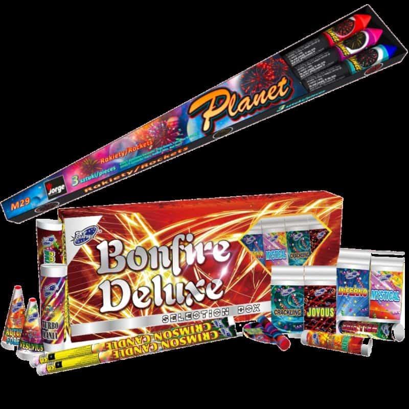 Bonfire Deluxe & Plant Rockets
