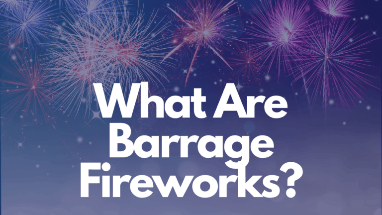 What Are Barrage Fireworks