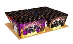 annual gala barrage fireworks