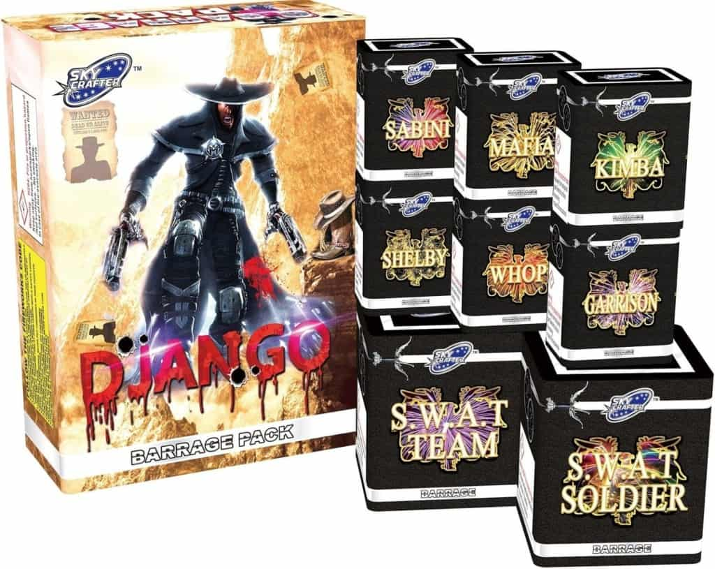 djangoselection box fireworks