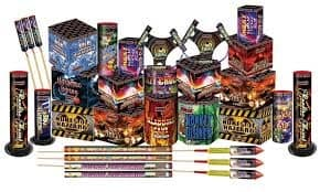 fireowork selection box for bonfie night