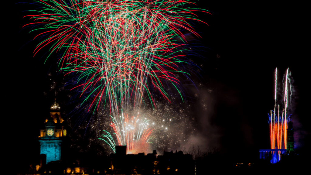 fireworks Edinburgh