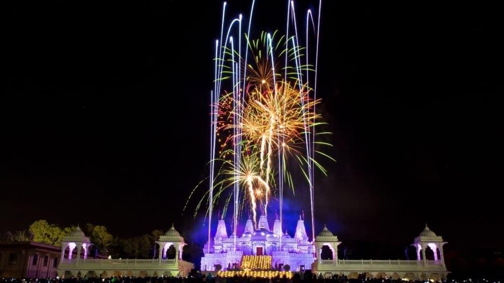 fireworks for Diwali