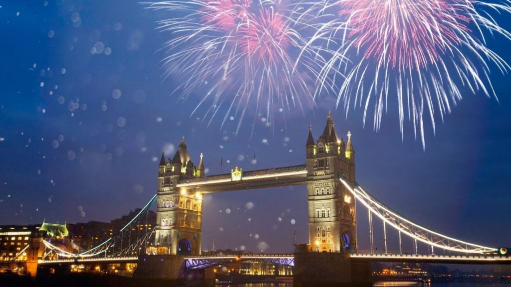 fireworks for new years eve uK