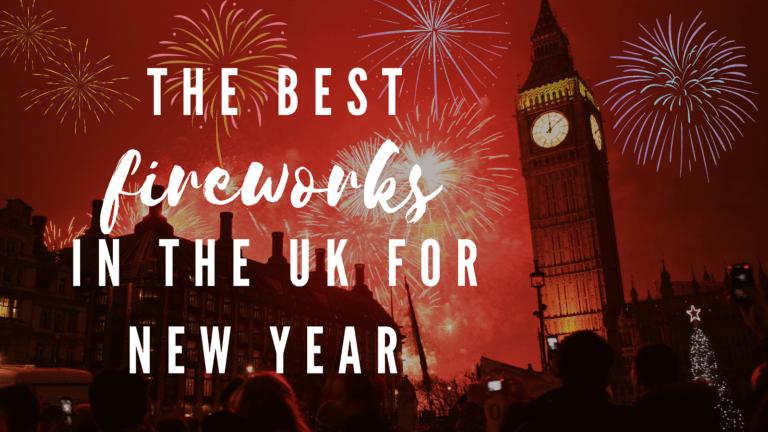 fireworks nye london