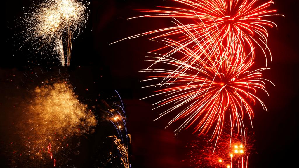 fireworks st ives