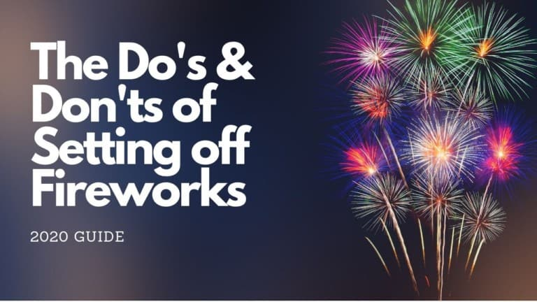 how to set off fireworks